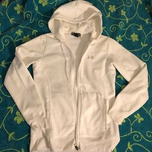 Under Armor woman's fitted size sm coat hoodie